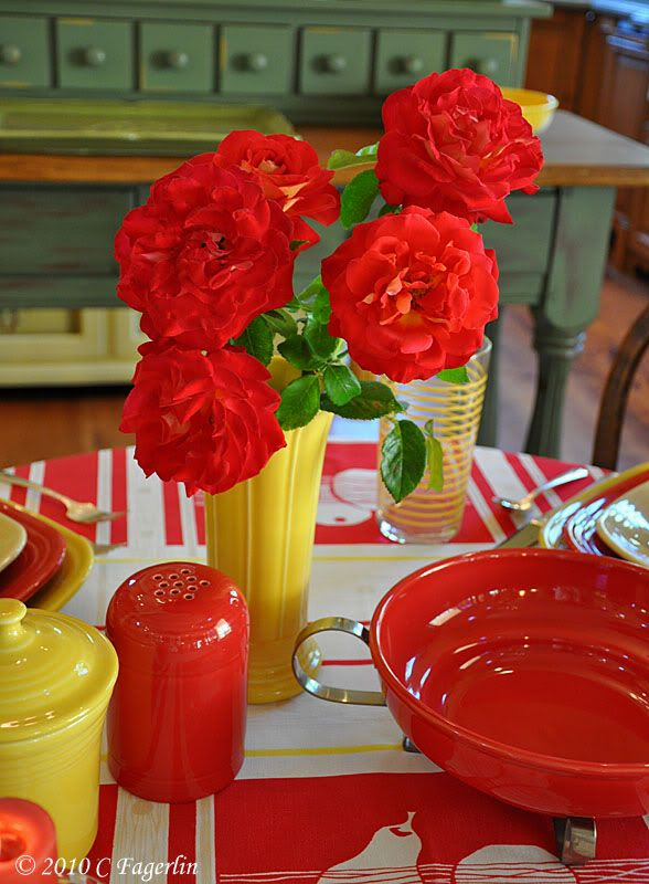 The Little Round Table: Square Fiesta On A Round Table #2