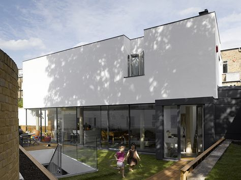 North London House – partially buried new-build house on a complex urban plot, broadcast on the autumn 2013 series of Grand Designs, Channel 4.