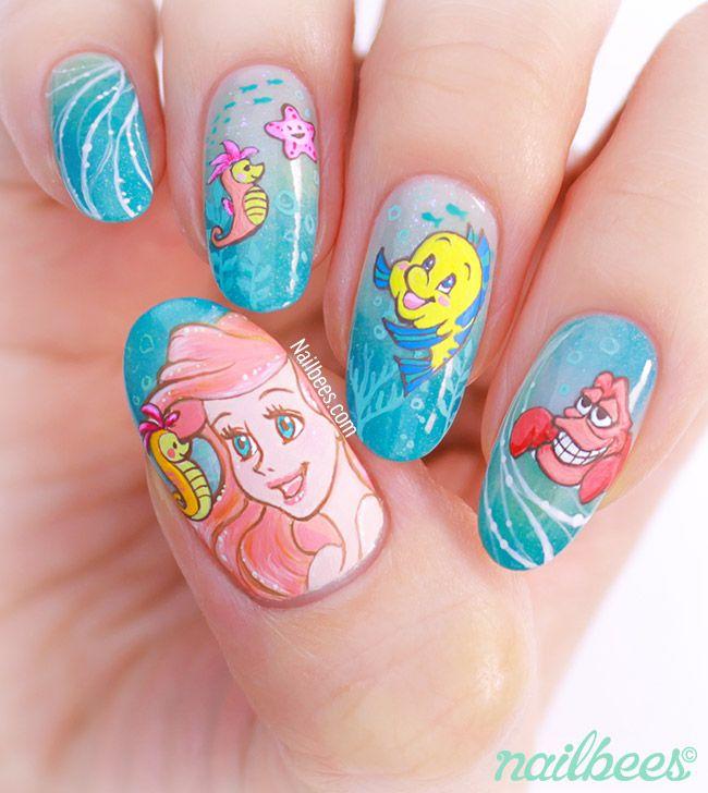 Ariel Nail Art