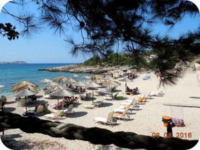 Astrida Beach - A fost bine si-n Thassos :)
