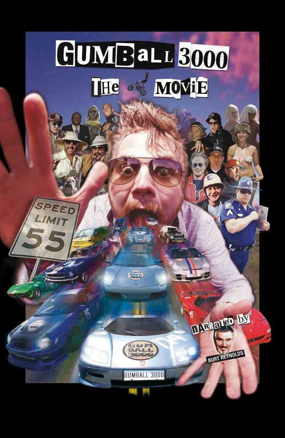 Gumball 3000: The Movie 11x17 Movie Poster (2003)