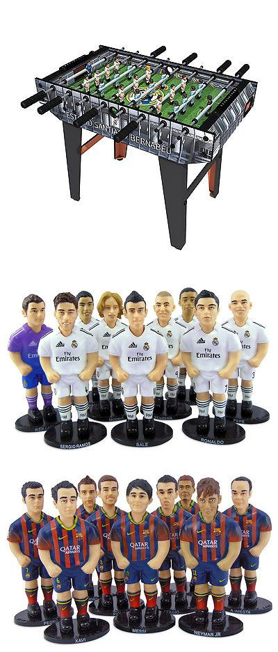 Foosball 36276: Minigols Real Madrid Foosball Table With 11 Real Madrid And 11 Barcelona Figures -> BUY IT NOW ONLY: $179.99 on eBay!