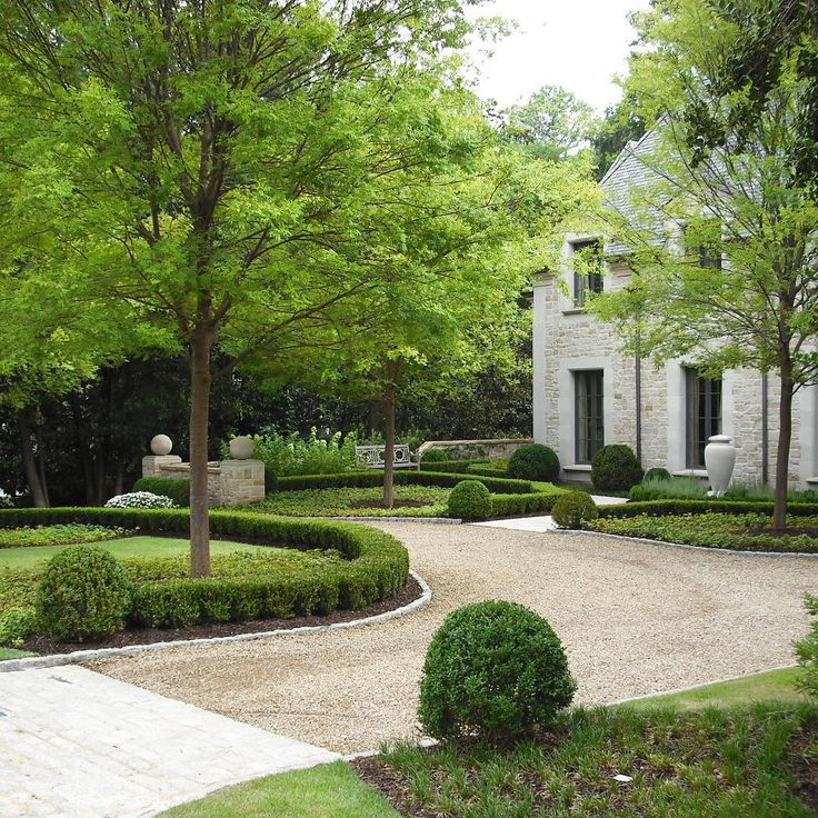 Shaped Driveway Landscaping : Best ideas about gravel landscaping on low