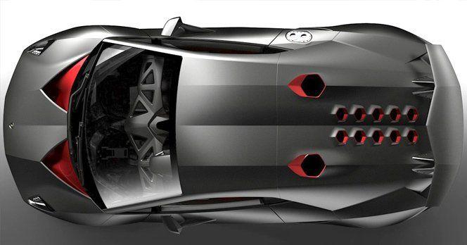 Aqui está o substituto do Murcielago, o Sesto Elemento, um dos maiores destaques da marca no Salão de Paris.O nome vem da tabela periódica, onde o carbono, usado na construção do carro, é o sexto elemento.Ele tem 99 kg de peso, isso mesmo, menos de 100 kg. O motor 5.2 V10 leva essa beleza de 0 a 100 km/h em 2,5 segundos, com velocidade máx de 320 km/h.O design conta com cortes angulados, aplicando essa tendência em design agressivo. Os faróis têm lampanas bi-xenon e de LED.via