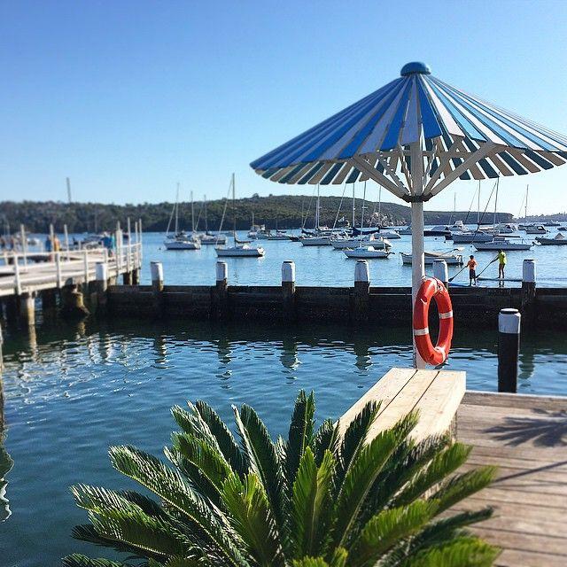 The Boathouse, Balmoral - Alfresco cafe @theboathousebb #theboathousegroup, Balmoral Beach Pier  Photo: http://instagram.com/joannewilkinson
