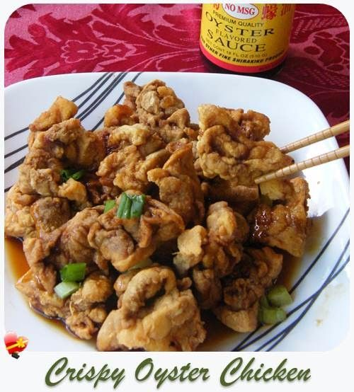 Crispy Oyster Chicken with a light and tasty oyster sauce recipe. Get more local style recipes here.