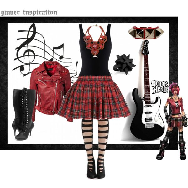 """Judy Nails - Guitar Hero"" by kary-trevino on Polyvore"