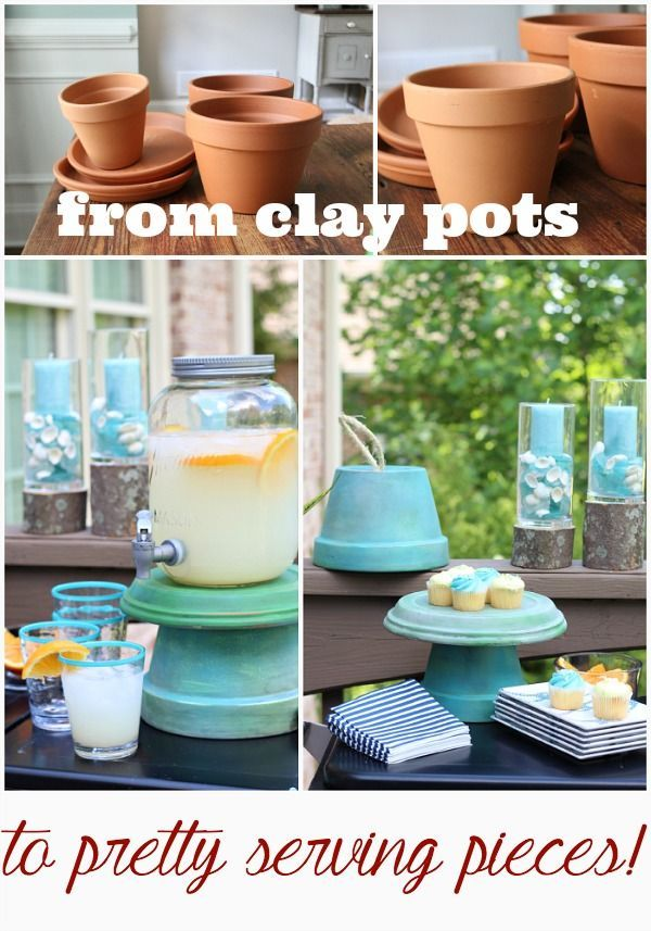 Clay Pots are not just for Planting | Refresh Restyle