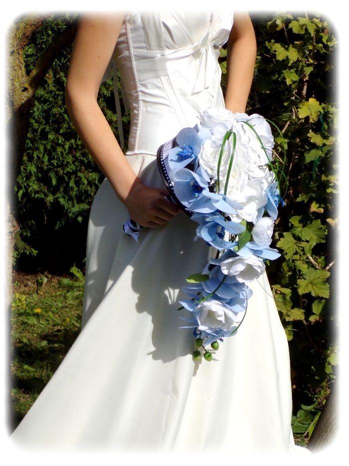Bouquet mariee orchidee bleu meilleur blog de photos de mariage pour vous - Bouquet mariee bleu ...