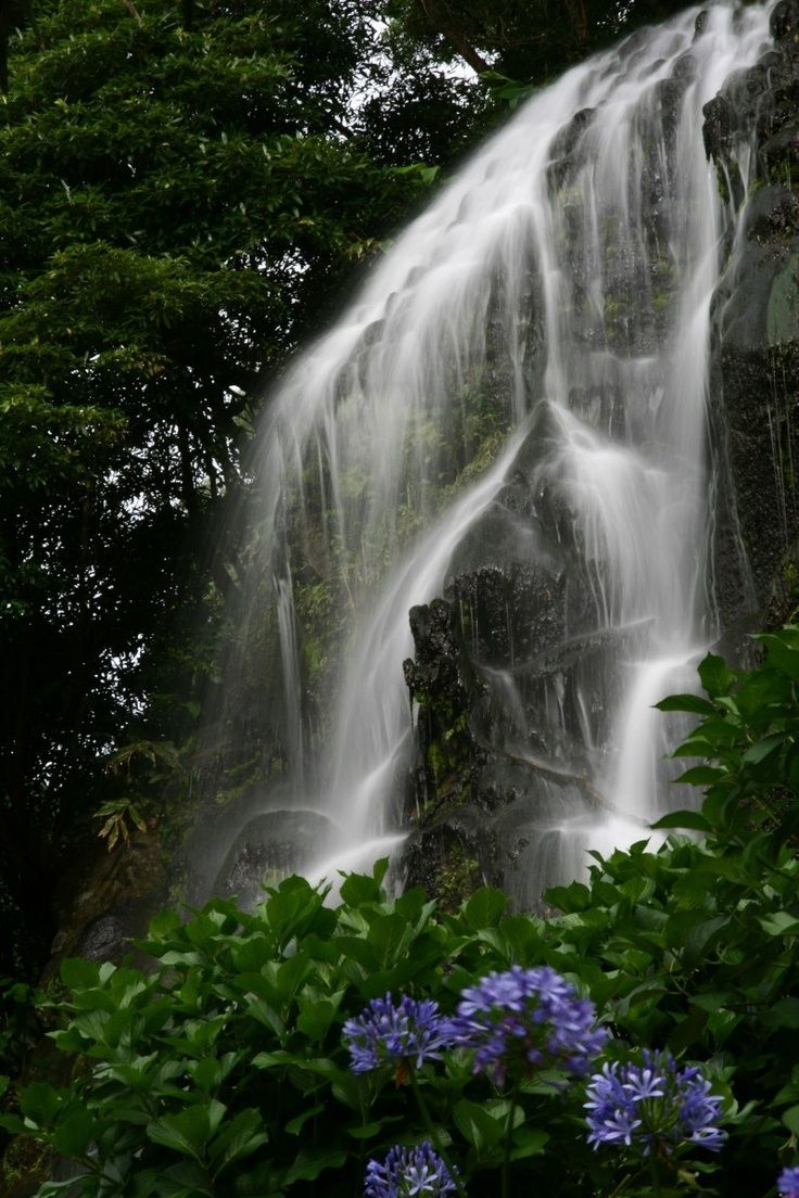 Waterfall - Azores - Portugal