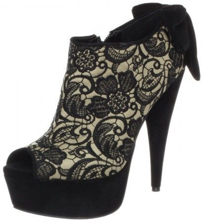 Jessica Simpson Raurie3 Lace Platform Booties #jessicasimpsonshoes #lacebooties #platformbooties