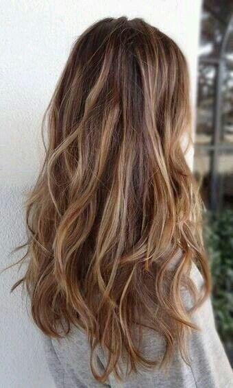 #long #hair #highlights