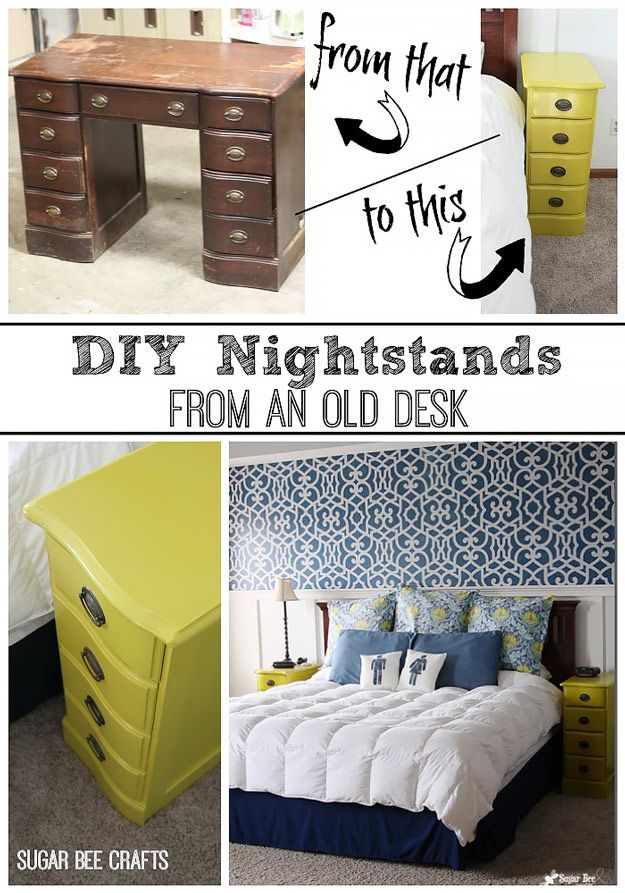1000 ideas about night stands on pinterest bedroom night stands nightstand ideas and side - Do it yourself furniture ideas ...