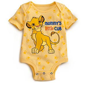Simba Disney Cuddly Bodysuit for Baby | Disney StoreSimba Disney Cuddly Bodysuit for Baby - This super cute bodysuit inspired by The Lion King is a purr-fect fit for your little cub. Our Disney Cuddly Bodysuits are made from organic cotton and feature Grow-An-Inch-Snaps, allowing for longer wear as your little one grows.