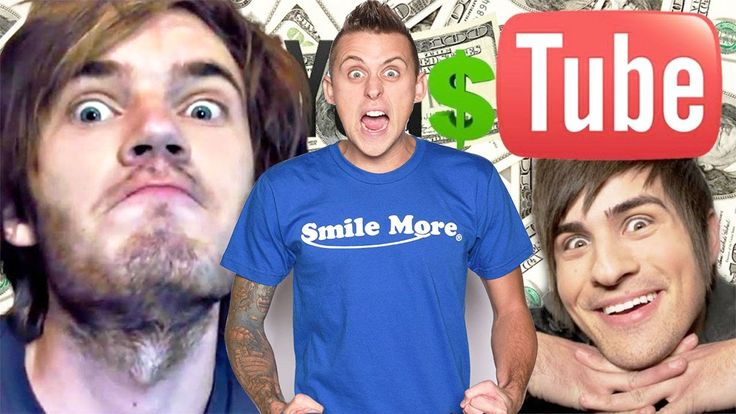 Top 10 Richest YouTubers in the world !!