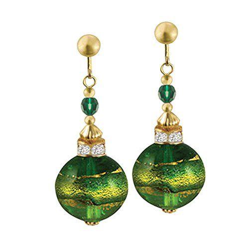 Focale Peridot/Emerald Murano Glass Drop Clip On Earrings... https://www.amazon.co.uk/dp/B009CV07IS/ref=cm_sw_r_pi_dp_U_x_7AhMAbB2V3QSK