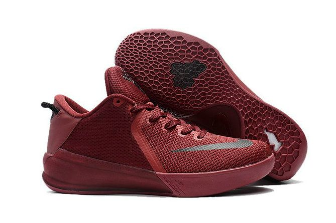 a41c02046ff9 2017 2018 Daily Nike Kobe Venomenon 6 Burgundy Black Basketball Shoe For  Sale