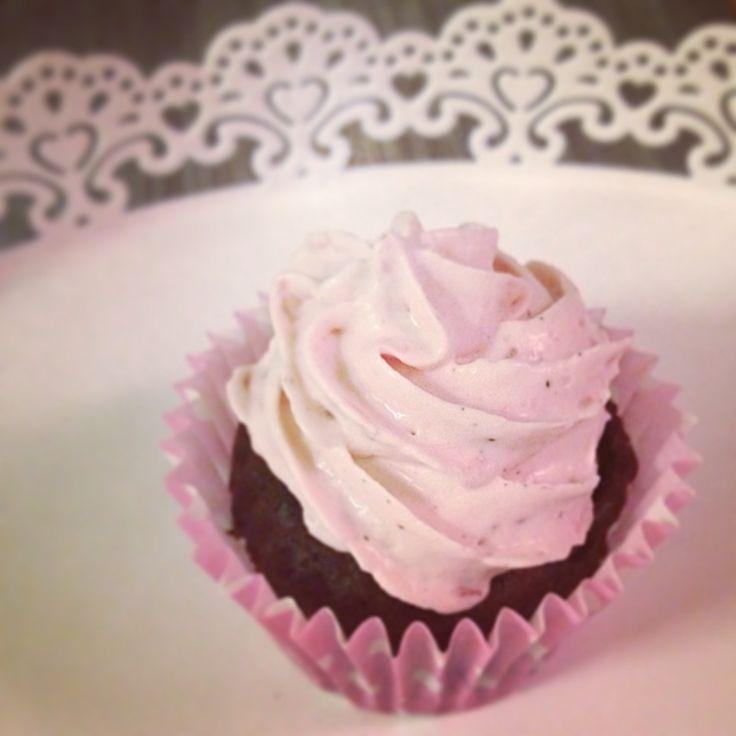 LCHF cupcake for Valentine