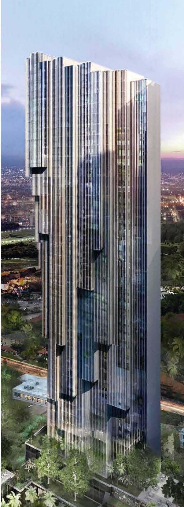 Platinum Residences, Platinum Park development, Kuala Lumpur by RSP Engineers Sdn Bhd :: 30 floors