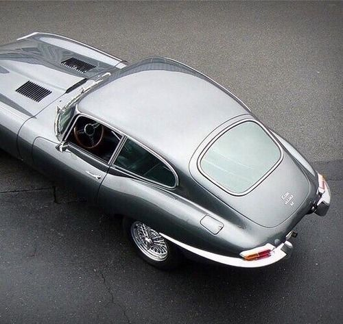 Cars Jaguar: Jaguar E-Type. Just Thinking Recently This Was The First