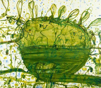 John Olsen - Lily Pond (2004)