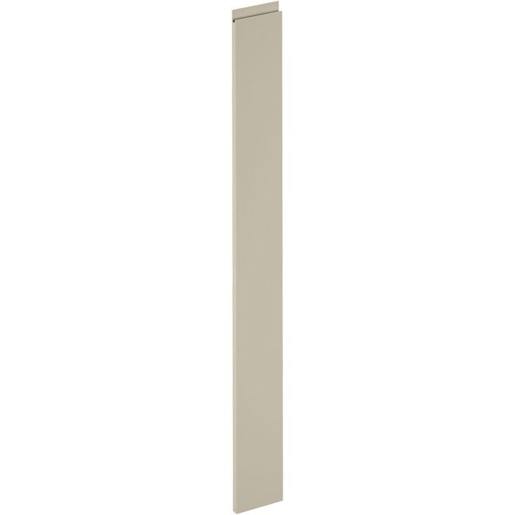 Porte de cuisine Osaka lin, DELINIA ID H.137.3 x l.14.7 cm
