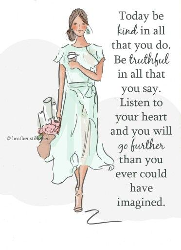 Wall Art for Women - Be Kind Be Truthful Listen to Your Heart- Wall Art Print…