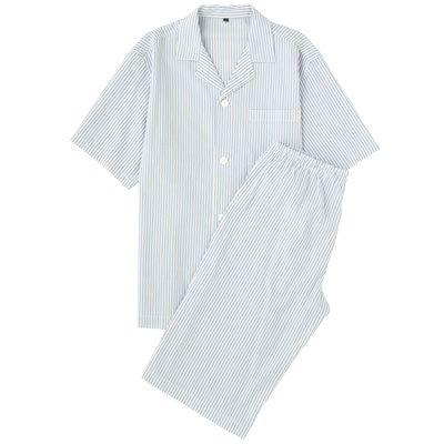 無印良品 / オーガニックコットン強撚ブロード半袖パジャマ(半袖・ハーフ)