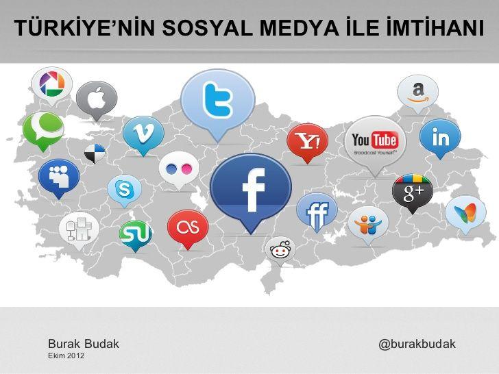trkiyenin-sosyal-medya-ile-imtihan by Burak BUDAK via Slideshare