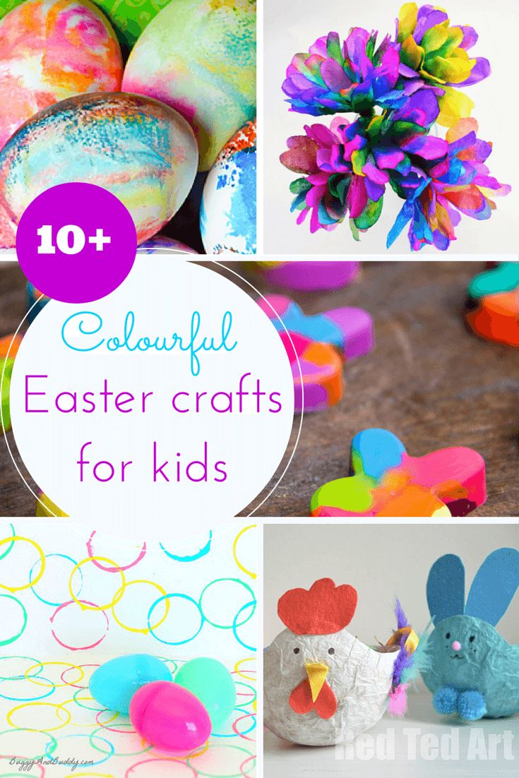 Easter craft ideas for toddlers - 10 Colourful Easter Crafts For Toddlers