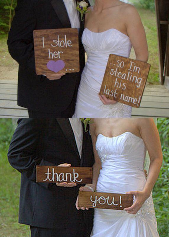 Funny Ideas for wedding photos