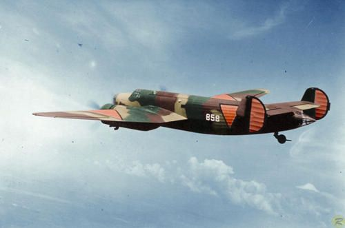 A Dutch Fokker T.V twin-engine bomber, this aircraft displays the large orange ID markings that the Netherlands Air Force used during the pe...
