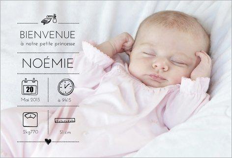 Faire-part de naissance fille : Personnalisez votre faire-part de naissance avec les photos de votre fille et votre texte. Choisissez vos accessoires, votre papier, vos enveloppes. Recevez vos cartes chez vous ou expédiez ou expédiez-les directement chez vos proches. Cartes à partir de 0.62€ selon format. Retrouvez cette carte ici : http://www.popcarte.com/cartes-flash/carte-naissance/faire-part-naissance-photo-fille.html