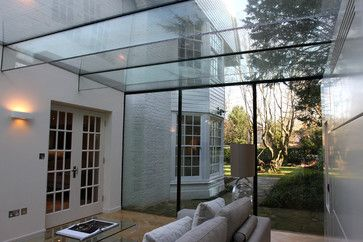 Bishops Avenue - contemporary - Patio - London - IQ Glass UK - Pinned onto ★ #WebinfusionHome ★