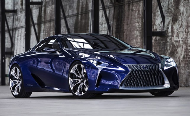 Lexus LF-LC Blue Opal Concept Revealed in Sydney Auto Show