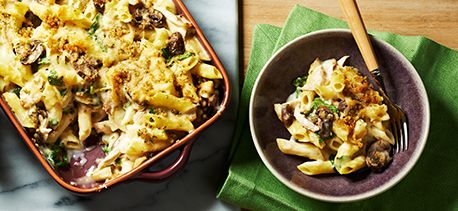 Chicken Tetrazzini - Sometimes in a pinch Campbell's recipes are quite satisfying and delicious!