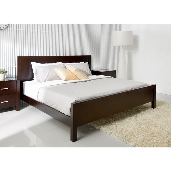 king bed furniture abbyson living hamptons king size platform bed overstock 12027