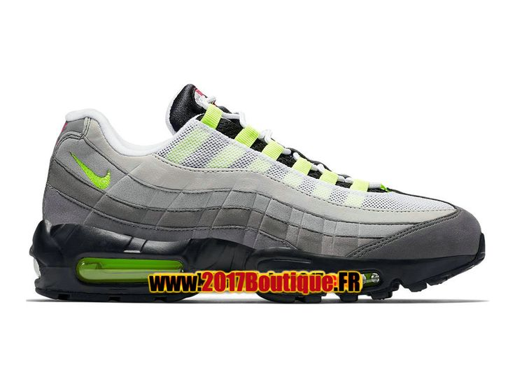 "Nike Air Max 95 OG ""What The""/""Greedy"" QS Chaussure de Basketball Nike Pas Cher Pour Homme Noir/Vert 810374-078"