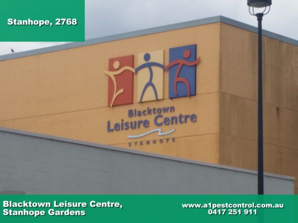 A photo of the Blacktown leisure centre located in Stanhope Gardens.