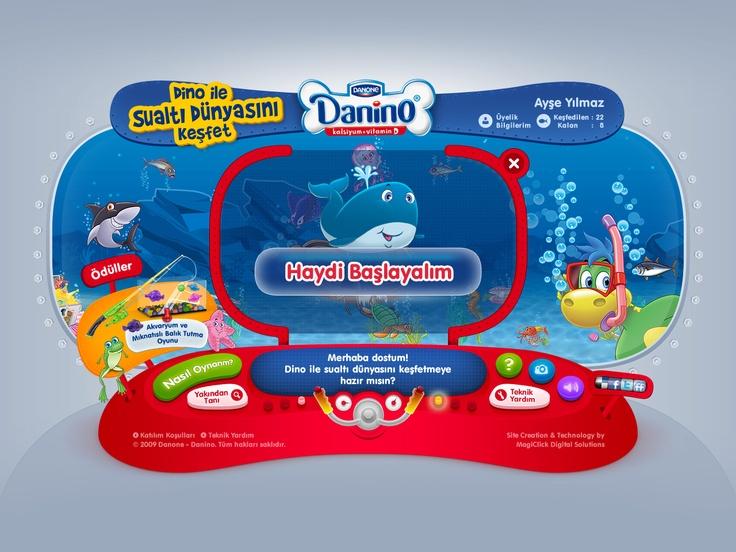 Danino - Discover the Underwater World  http://www.danino.com.tr/sualtidunyasinikesfet