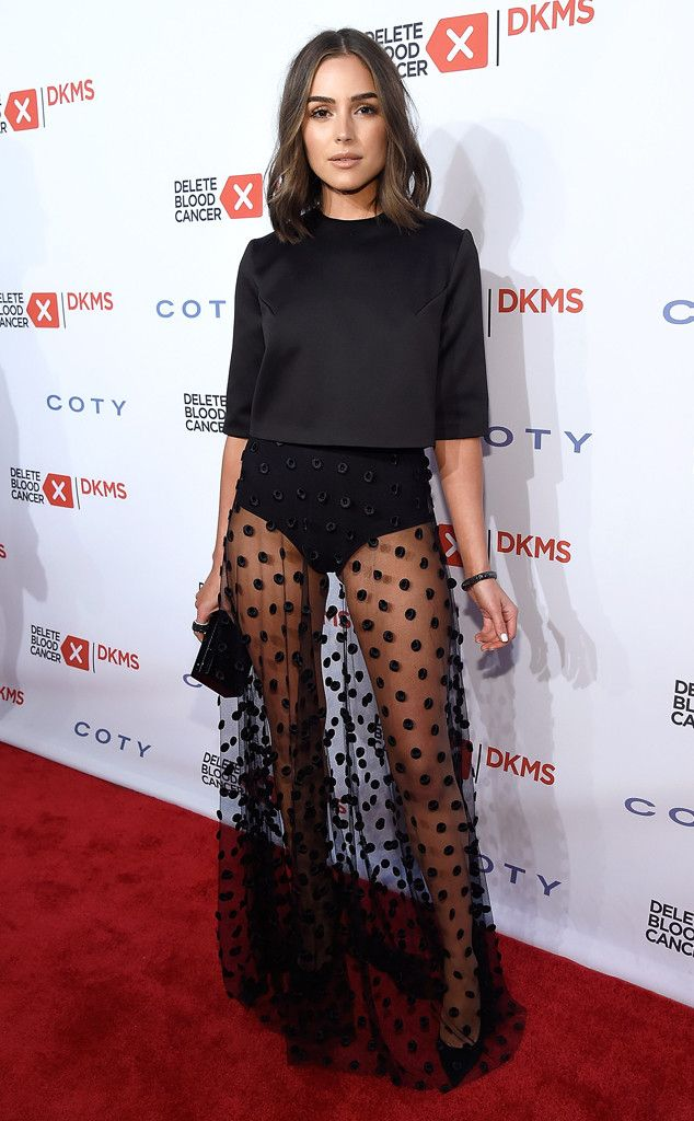 Olivia Culpo from The Big Picture: Today's Hot Pics Legs for days! The former Miss USA beauty stuns in a transparent skirt at the 10th Annual Delete Blood Cancer DKMS Gala in New York City.