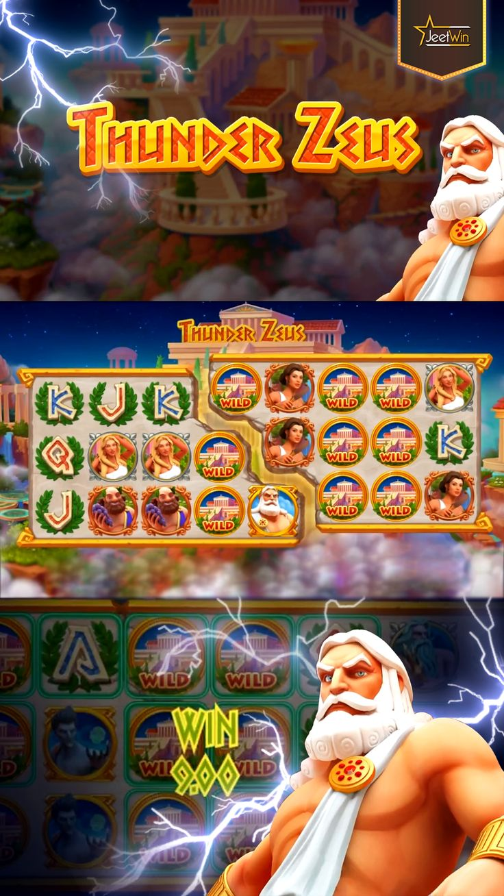 Stunning Thunder Zeus Slot Game. Play Slot Game And Win