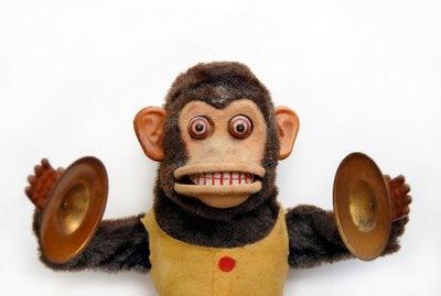 Toy monkey...