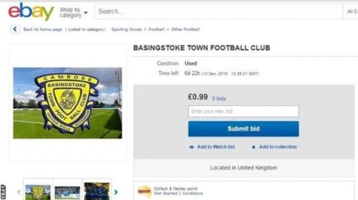 ITS a football fanatics dream to be able to own their own club one day. And non-league Basingstoke Town have  Source
