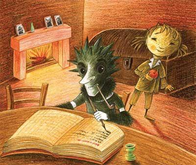 Ilustrace Galina Miklínová