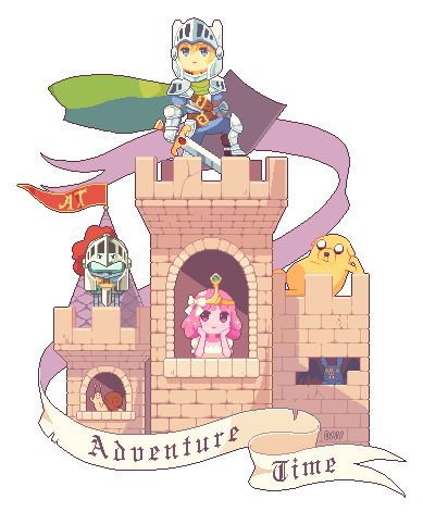 Pixel Adventure Time by DAV-19 | Create your own roleplaying game books w/ RPG Bard: www.rpgbard.com | Pathfinder PFRPG Dungeons and Dragons ADND DND OGL d20 OSR OSRIC Warhammer 40000 40k Fantasy Roleplay WFRP Star Wars Exalted World of Darkness Dragon Age Iron Kingdoms Fate Core System Savage Worlds Shadowrun Dungeon Crawl Classics DCC Call of Cthulhu CoC Basic Role Playing BRP Traveller Battletech The One Ring TOR fantasy science fiction horror