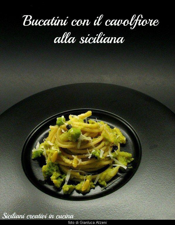 Pasta con il cavolfiore, alla siciliana