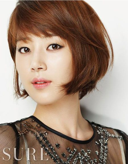 Han Ji Hye Hair