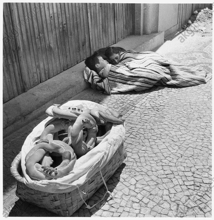 Minho 1954 - Fotografia de Jean Dieuzaide