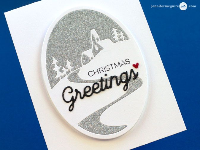 Inlay Video by Jennifer McGuire Ink | Christmas greetings